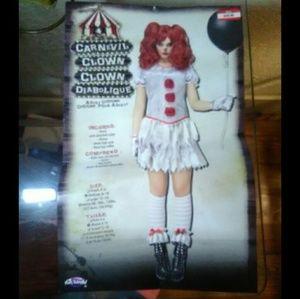 Halloween Cooky Clown Costume